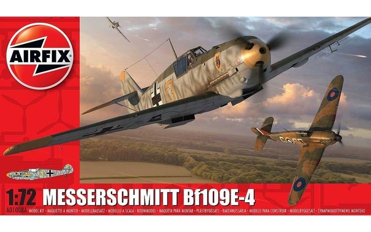 Airfix Messerschmitt Bf109E-4