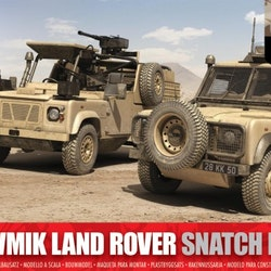 Airfix British Forces Land Rover Twin