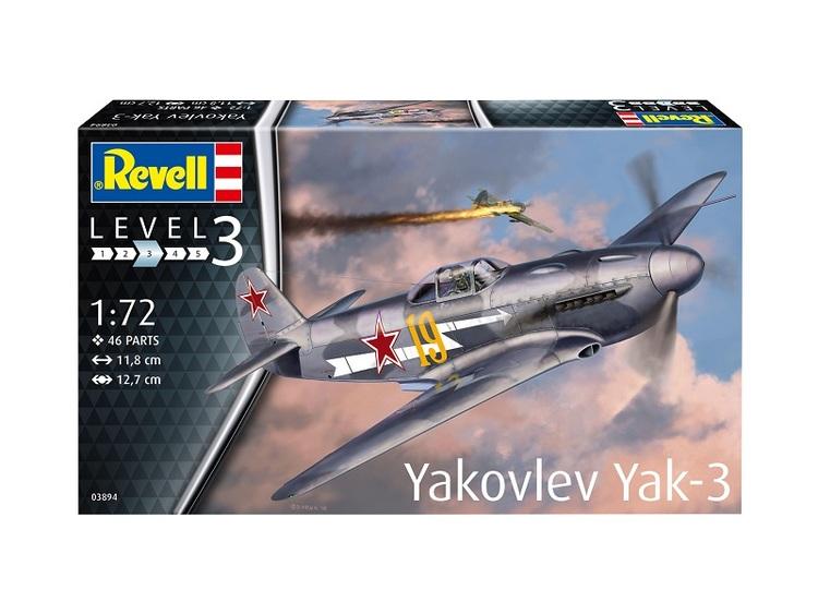 Revell Model Yakovlev Yak-3