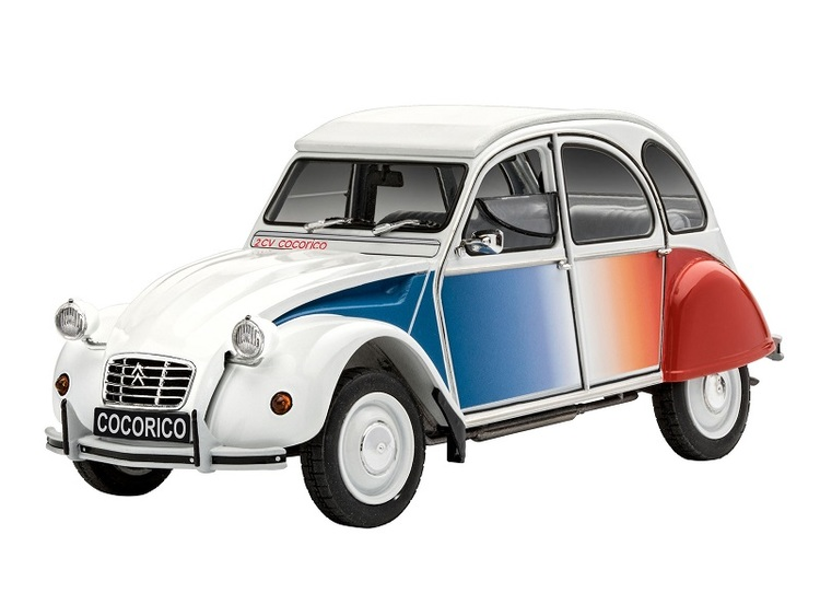 Revell Model Set  Citroen 2CV Cocorico