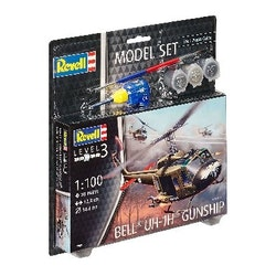 Revell Model Set Bell UH-1H Gunship