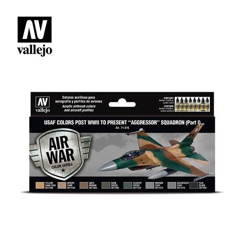 Vallejo USAF Colors PostWWII Aggressor Part 1