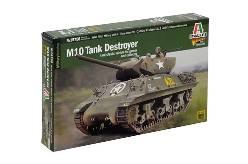 Italeri M10 Tank Destroyer
