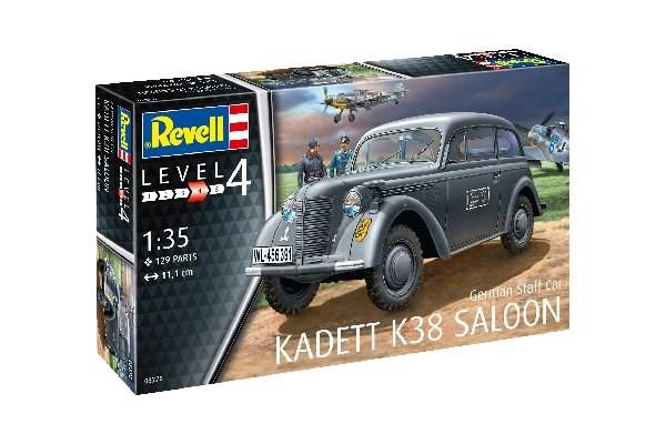 Revell Model Kadett K38 Saloon