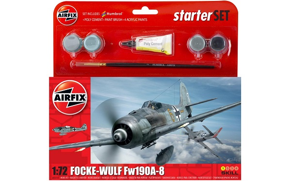 Airfix Focke Wulf FW190A-8 Starterset