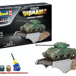 Revell Diorama Set-Sherman Firefly