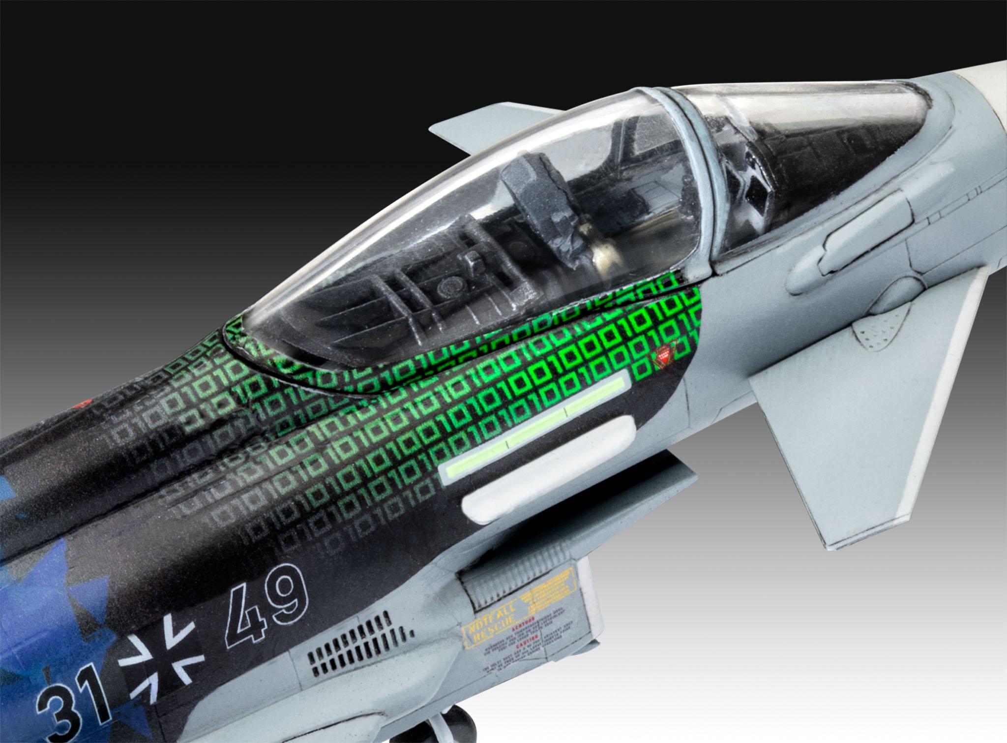 "Revell Model Eurofighter ""Luftwaffe 2020 Quadriga"""