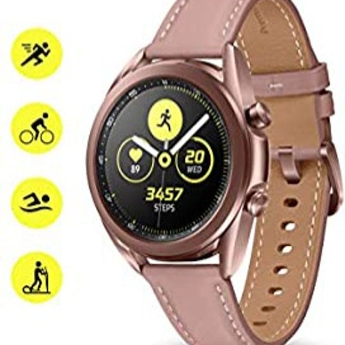 Samsung galaxy watch 3 ,(41mm ) Gold