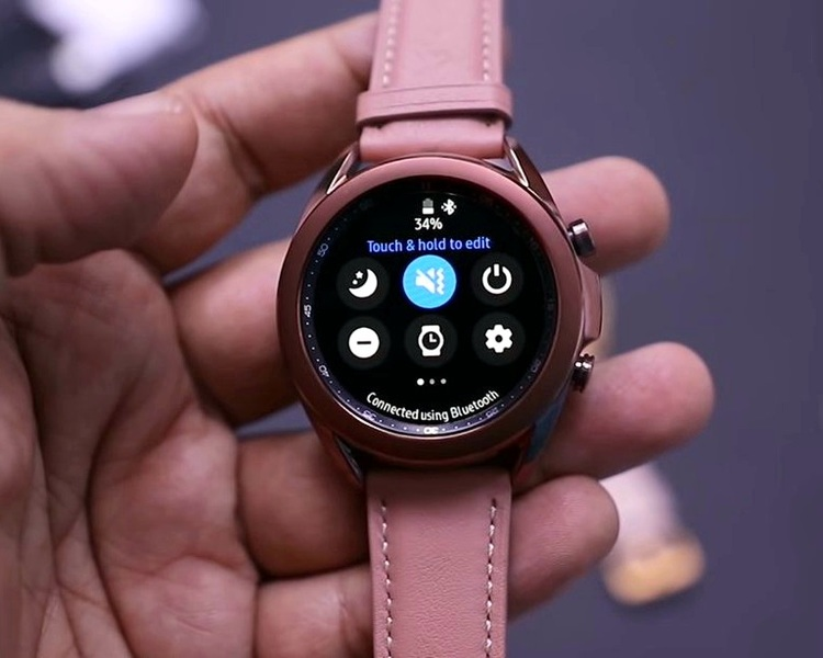 Samsung galaxy watch 3 ,(41mm ) Gold