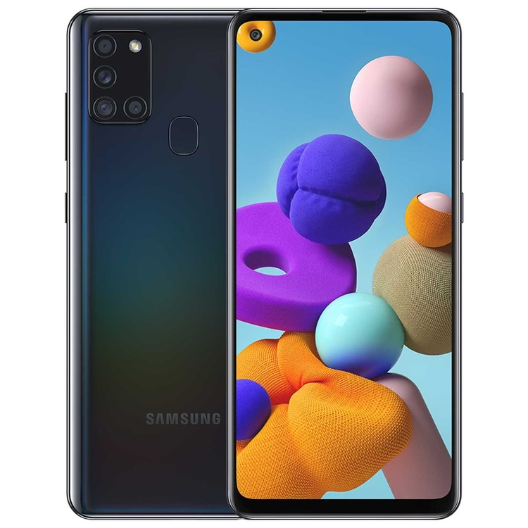 Samsung Galaxy A21s smartphone32Gb,svart