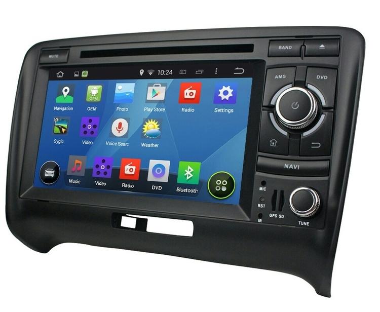 """7"""" android 8.0  Bilstereo Audi TT (2006 --2013) gps,wifi,backkamera"""