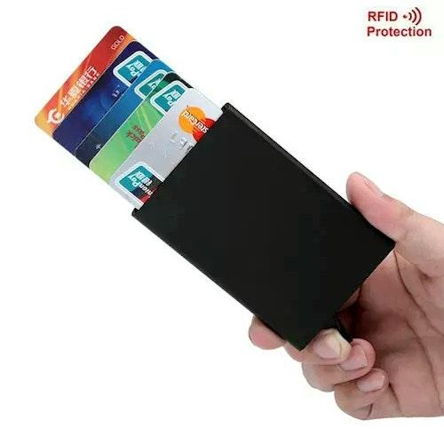 Rfid skydd -kreditkort plånbok