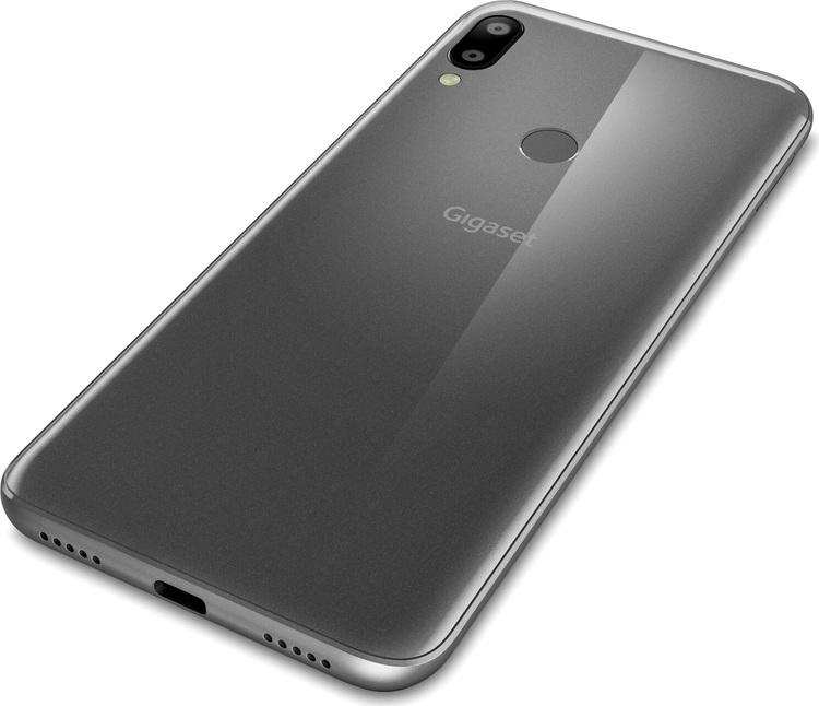 Gigaset GS190 titanium grå ,16GB, dual  sim