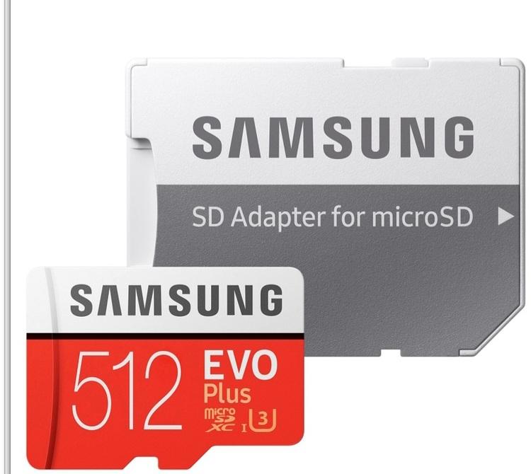Samsung microSDXC EVO + 512 GB