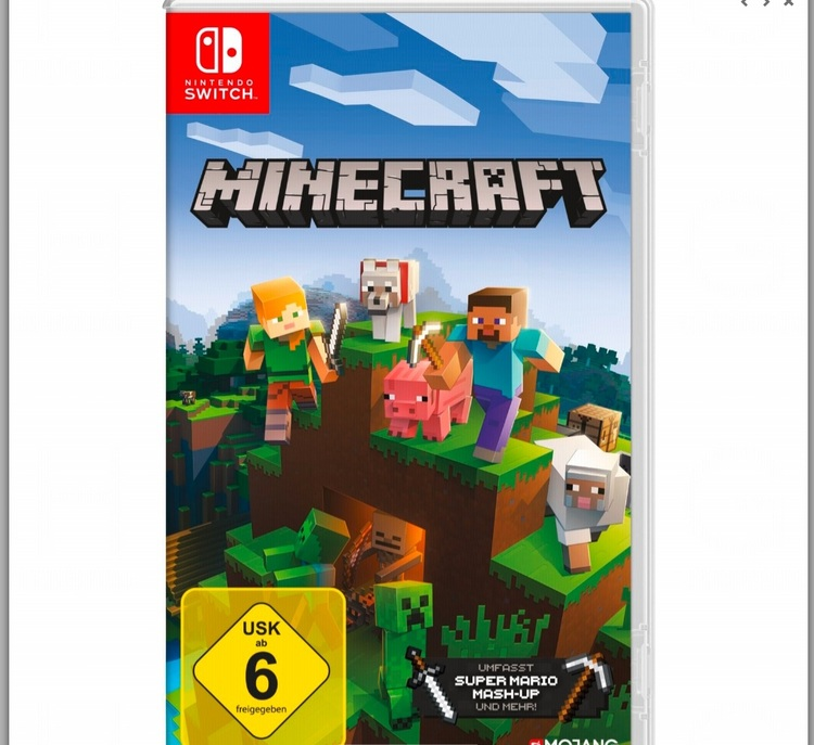 Nintendo Switch Minecraft: Nintendo Switch Edition
