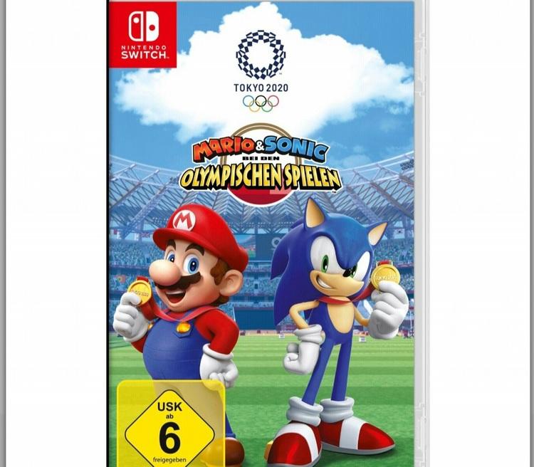 Nintendo Switch Mario & Sonic Olympic Games: Tokyo 2020