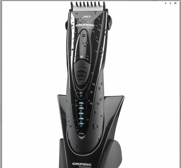 Grundig MC 9542 Professionnel hår klippare