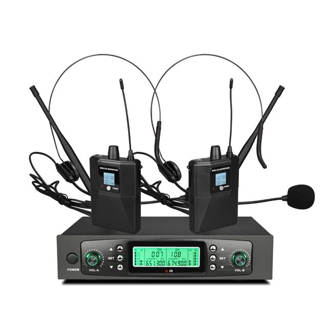 2×50 kanal PLL Headset mikrofonsystem