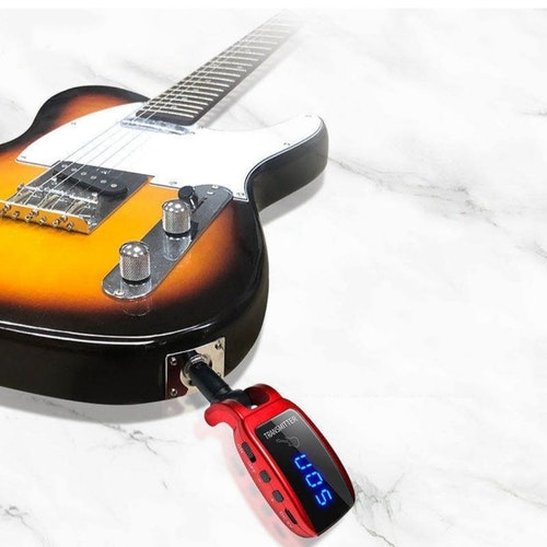 UHF trådlöst  Elgitarr mikrofonsystem