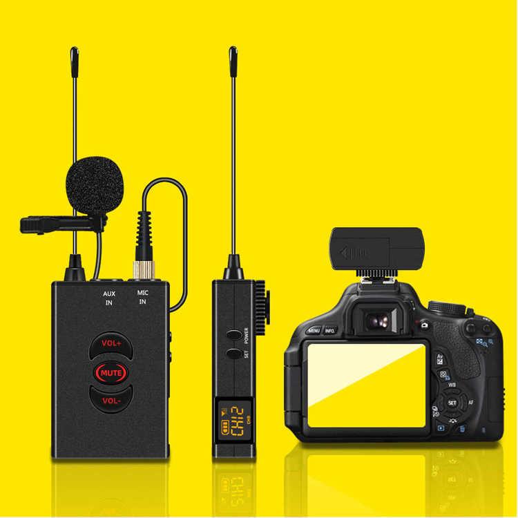 50 kanaler PLL uhf scen Mikrofon