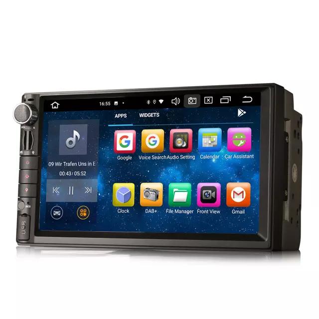 "7"" universal bilstereo, android 10, wifi,gps, radio"