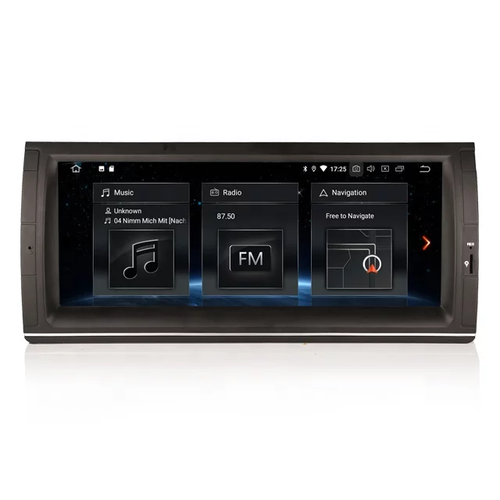 "10,25 ""  BMW E39,E53 bilstereo,android 10"