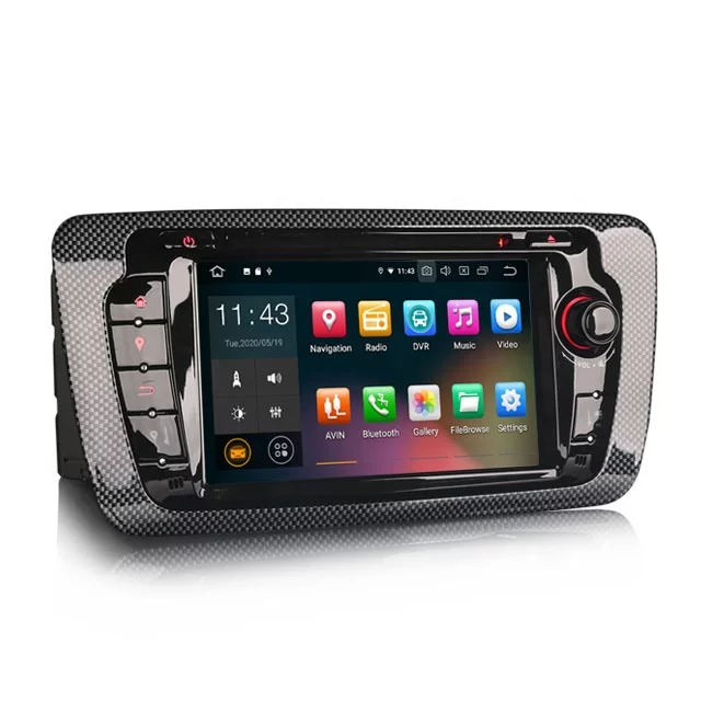 """7 """" bilstereo SEAT IBIZA(2009---2013) android 10,gps,rds,wifi"""