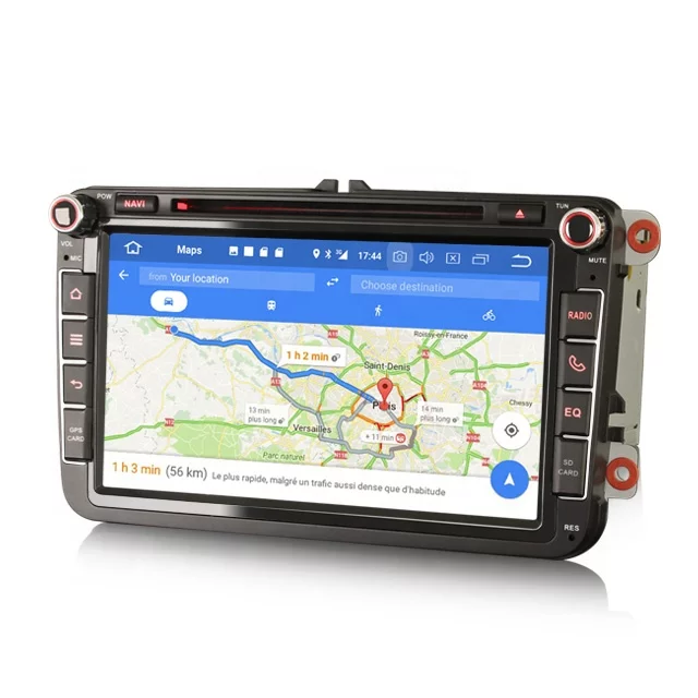 "8 "" vw bilstereo,android 10,wifi,gps,4g"