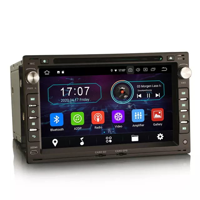 7 tums Android 10 , bilstereo vw Transporter ,sharan