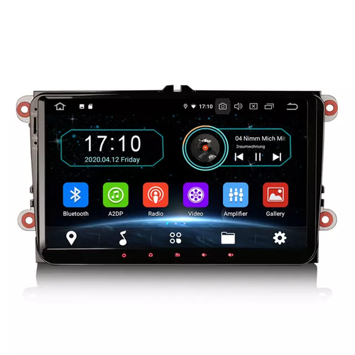 "9"" VW bilstereo,med android10,gps, wifi"