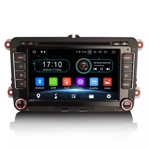"""7"""" VW bilstereo Android 10,gps,wifi"""