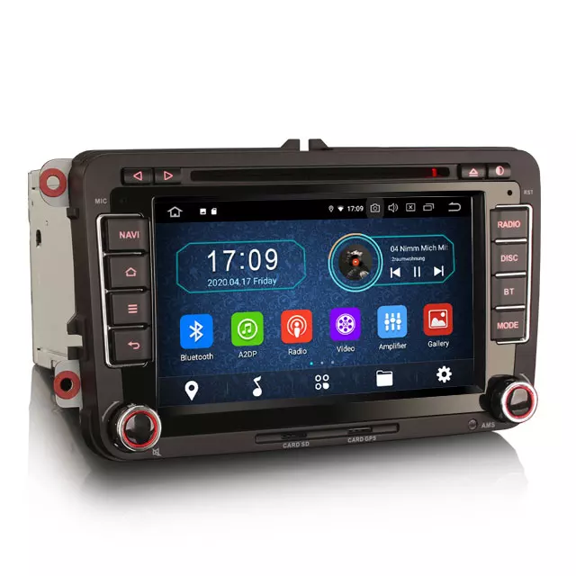 "7"" VW bilstereo Android 10,gps,wifi"