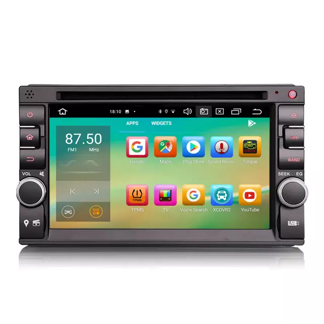 "6.5 "" 2DIN biltereo android 10,dvd,gps,wifi"