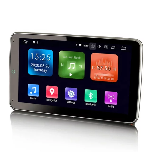 "10,1 "" 2DIN bilstereo android 10,gps,dvd,wifi"