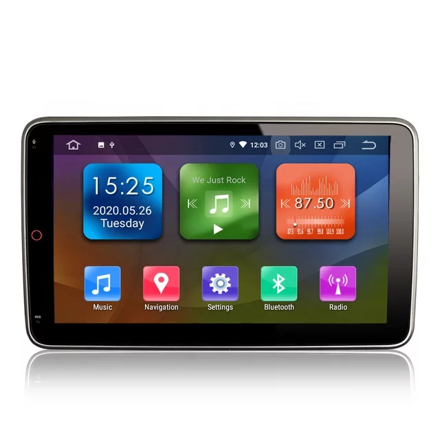 """10,1 """" 2DIN bilstereo android 10,gps,dvd,wifi"""