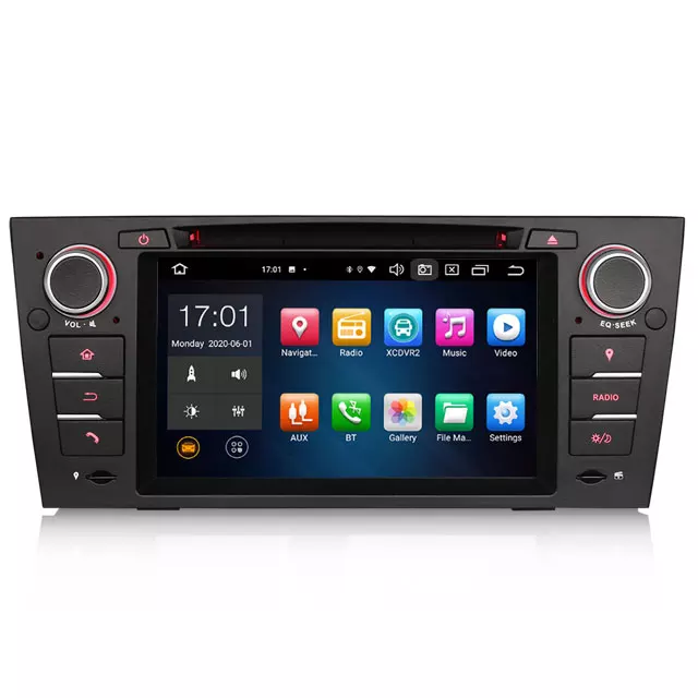 "7 "" Android 10  bilstereo BMW E90,E91,E92,E93"