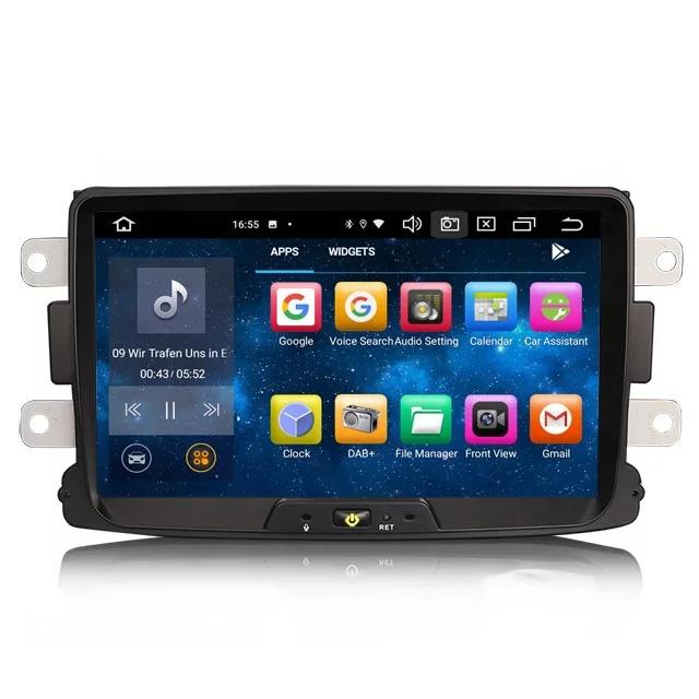 "8"" android 10,bilstereo Renault Dacia"