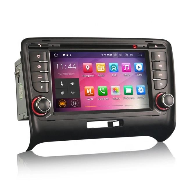 """7"""" Android 10,bilstereo AUDI TT MK2 (2006-2014)"""