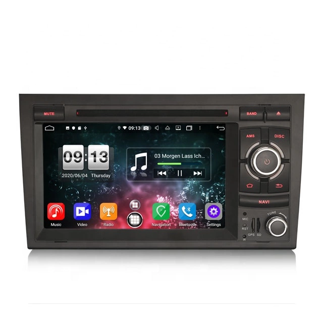"""7"""" Android 10, bilstereo AUDI A4 (2002-2007) S4 RS4 B9 B7"""