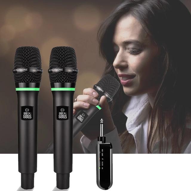 2×50 kanal PLL Uhf trådlöst handmikrofon system
