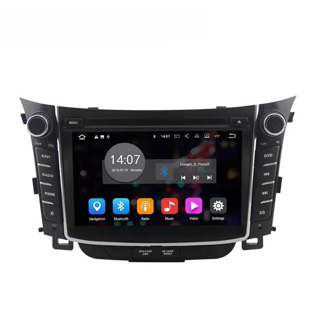 """7"""" Android 10 bilstereo,gps,wifi Hyundai i30 (2011---2015"""