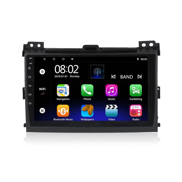 "Android 10 ,9"" bilstereo ,GPS,wifi Toyota Landcruiser Prado 120 ( 2002  ---  2009)"