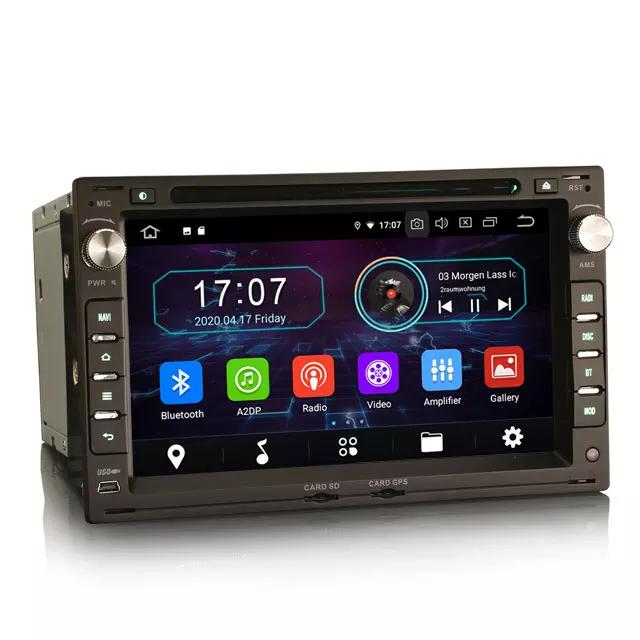 """Android 10, 7"""" bilstereo gps,wifi  vw passat,transporter, caravelle(1998------ 2009)"""