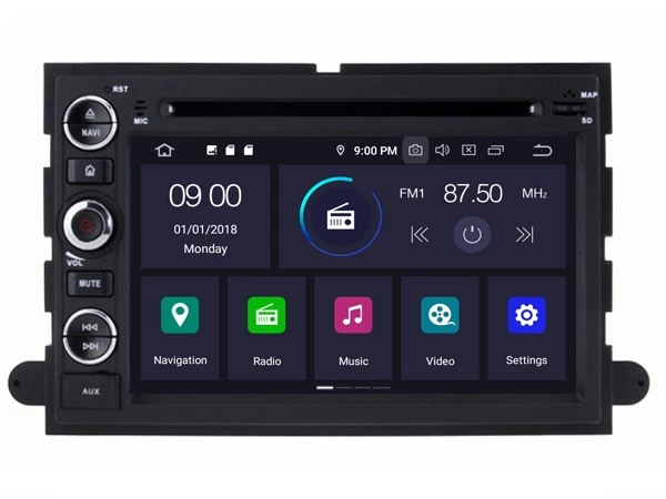 Android 10,0 , bilstereo, gps,wifi rds ,Ford F150, mustang,expedition