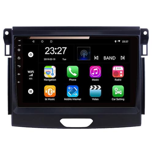 """9"""" android 10, bilstereo Ford Ranger 2015 ----20120"""