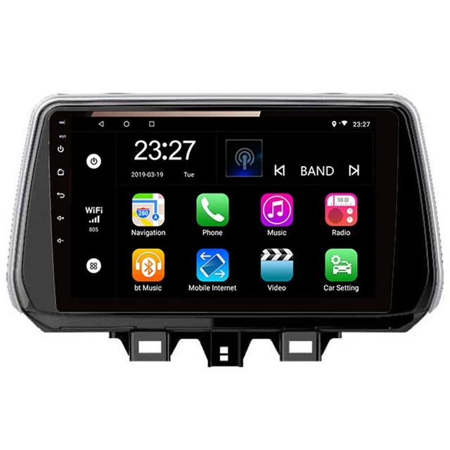 "9"" androud 10, bilstereo ,gps, wifi Hyundai ix45, Tucson (2018---2020)"