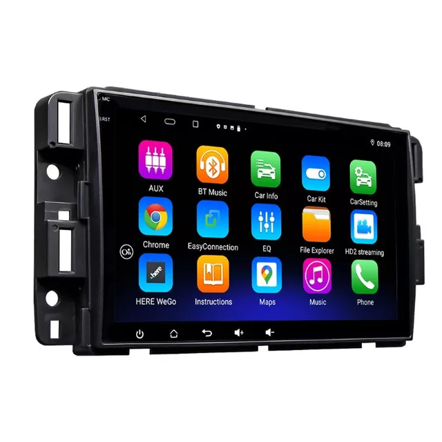 "8"" Android 10, bilstereo wifi,rds,gps,64 GB,GMC acadia,Yukon,daneli,Sierra"