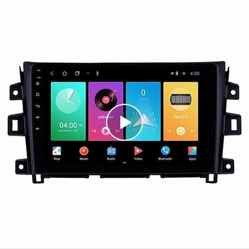 "9"" Android 10,bilstereo ,gps,wifi Nissan Navara Frontiet NP300 (2011---2016)"