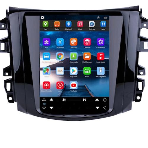 "9.7"" android 10, bilstereo ,gps,wifi,radio,Nissan Navara Terra NP300, 2018"