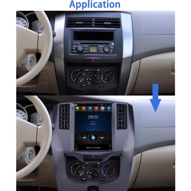 "10"" androud 10, bilstereo gps,Wifi,Nissan Lavina (2008---2015)"